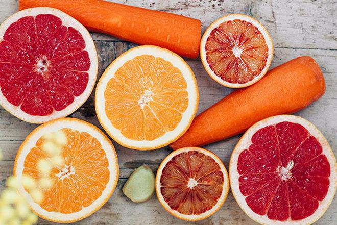 pomelo y zanahoria