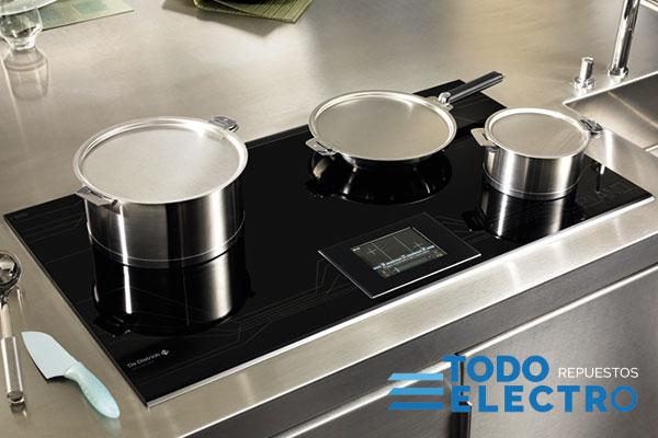 Cocinas de gas vitrocer mica o inducci n for Cocina induccion precio